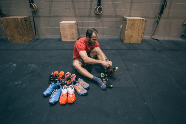 Footwear is a big piece of the puzzle. Thanks Salomon!