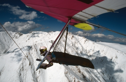 Flying the Owens Valley, California